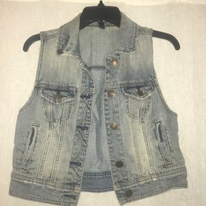 American Eagle Outfitters Tops - American Eagle denim vest